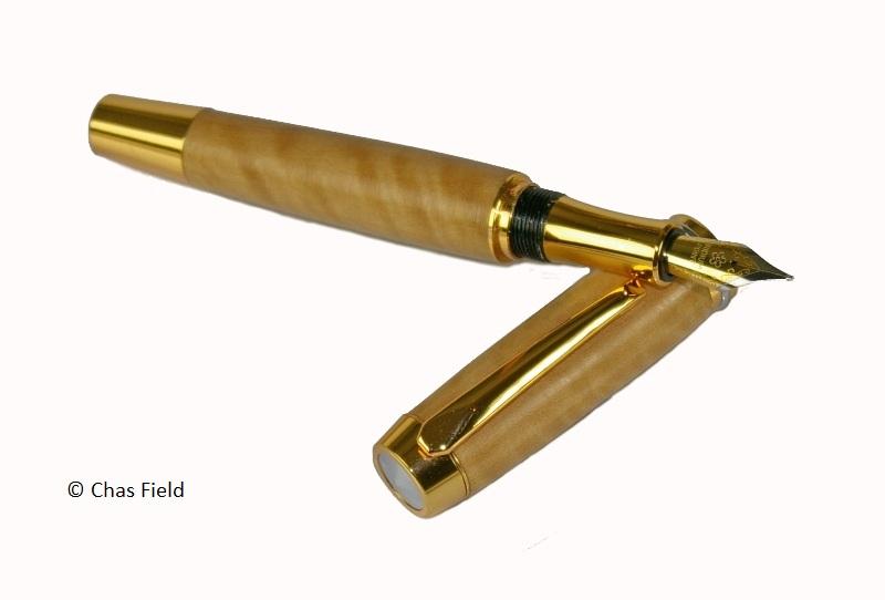 Totridge AX Fountain Pen Holly 29062014
